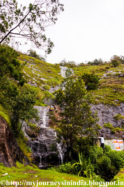 Waterfalls en route to Poombarai Village Kodaikanal