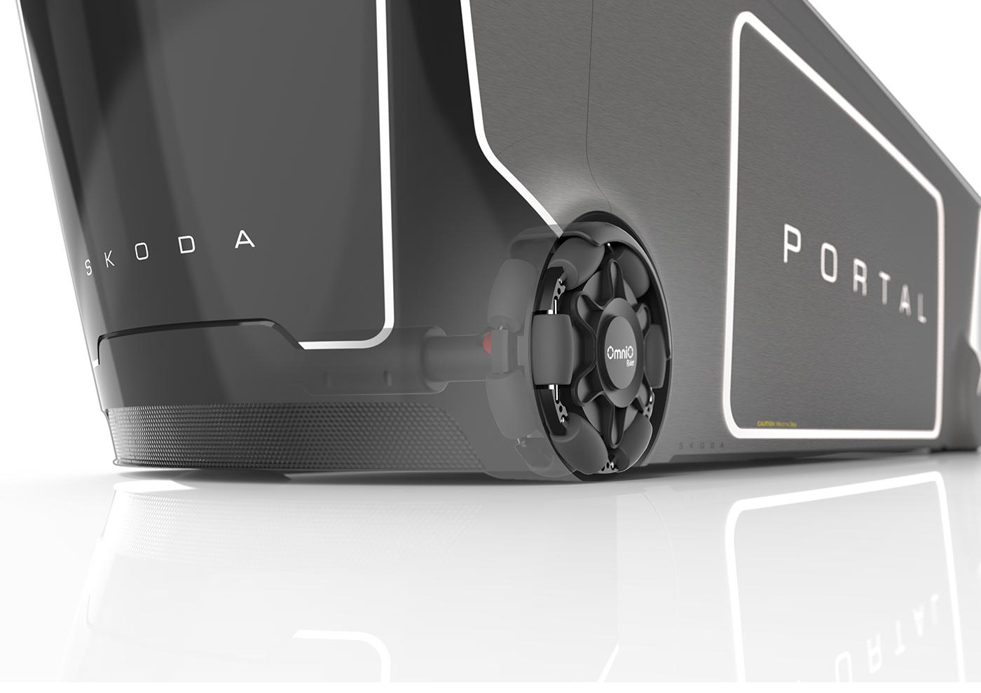 Škoda Portal 2035 by Marek Weidlich | motivezine