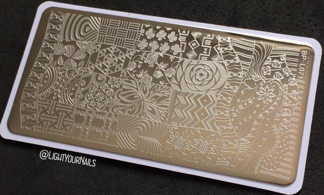 Stamping plate Bornprettystore BP-L071
