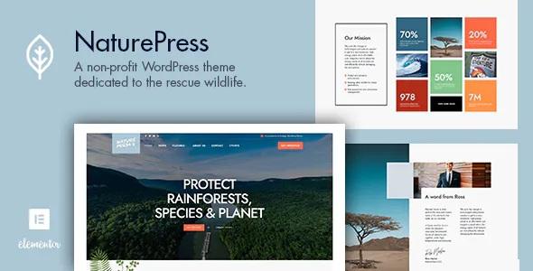 Best Ecology & Environment WordPress Theme