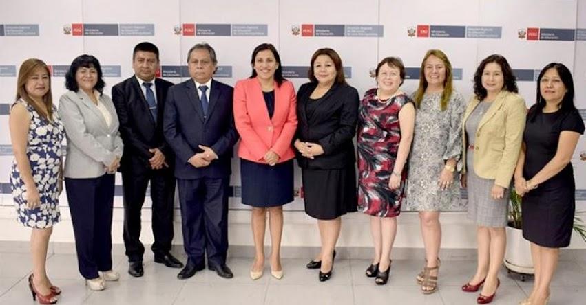 MINEDU: Lima debe potenciar trabajo con docentes para mejora de aprendizajes rumbo al Bicentenario, sostuvo la Ministra de Educación Flor Pablo Medina - www.minedu.gob.pe