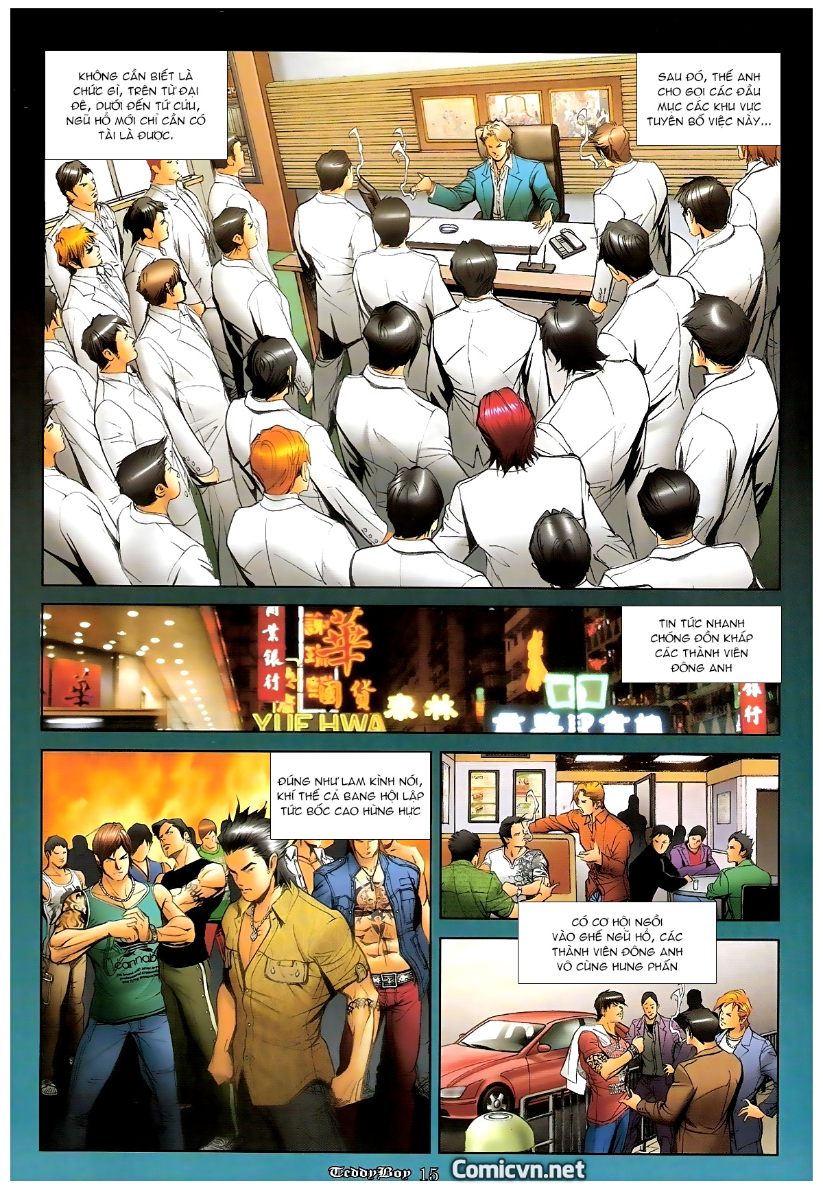 Người Trong Giang Hồ - Chapter 1246: Ngũ Hổ trùng tổ - Pic 14