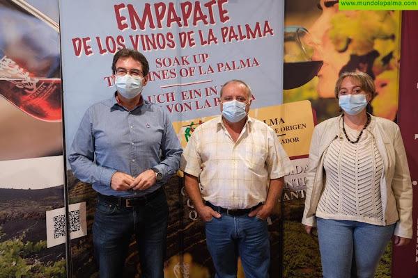 El Cabildo respalda la labor del Consejo Regulador Vinos de La Palma