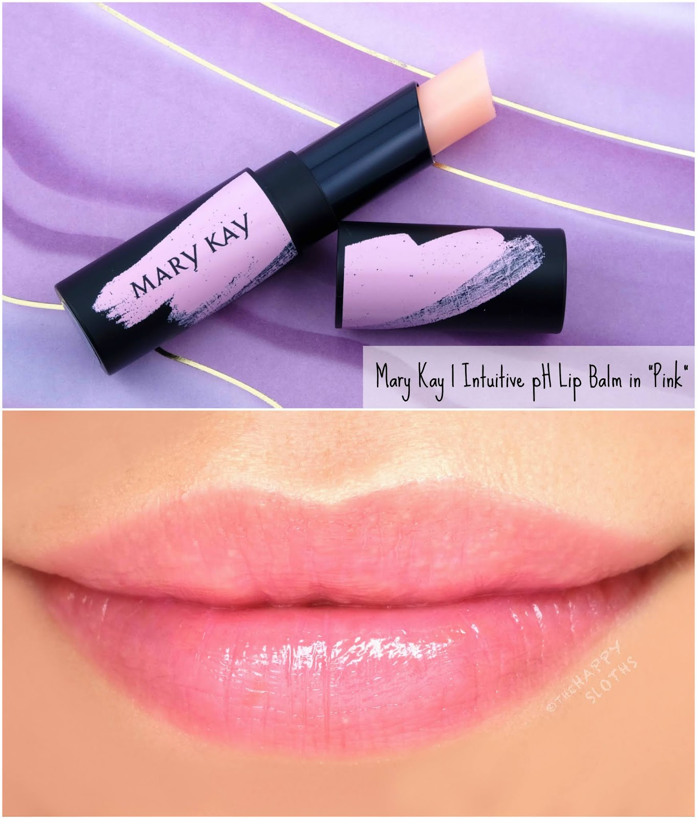 "Mary Kay | Intuitive pH Lip Balm ""Pink"": Review and Swatches"