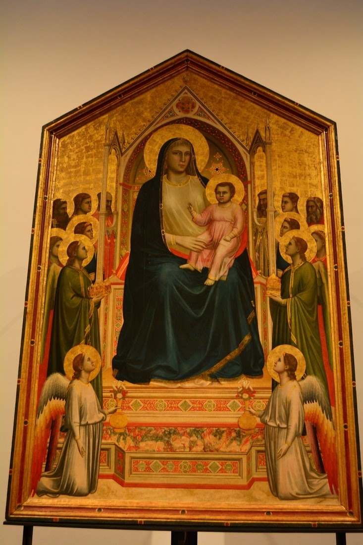 Giotto - Madone de tous les Saints - 1310