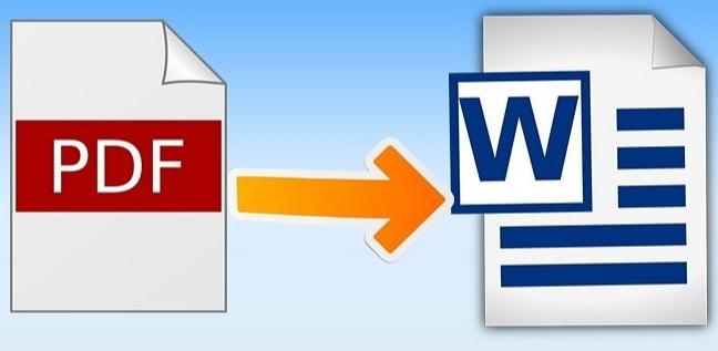 Konversikan file PDF Anda ke DOC secara Gratis
