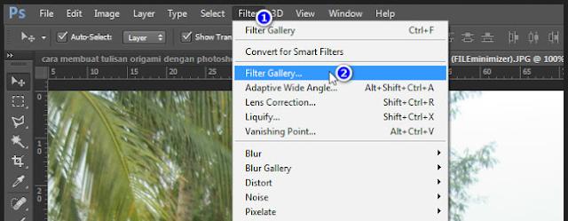 Cara Membuat Efek Patchwork di Photoshop paling mudah untuk pemula