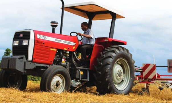 The Massey Ferguson MF 300 Xtra Series  offer tractor models from 50 to 85 hp. There are 6 models: MF 345, MF 350, MF 355, MF 360, MF 375, and MF 385