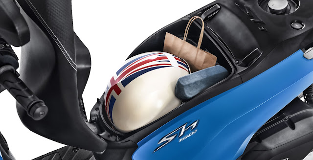 scooter-honda-sh150 porta capacete
