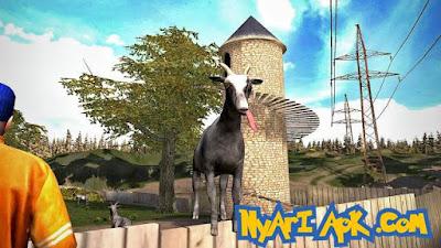 Download Goat Simulator Mod Versi 1.4.17 Apk Update Terbaru