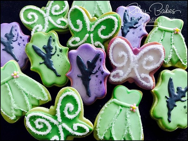Fairy Theme Birthday, fairy theme cookies, fairy birthday favors, fairy party decor
