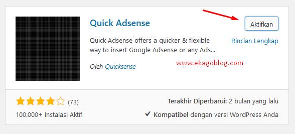 Ini Dia Cara Mudah Pasang Kode Adsense Ke Postingan WordPress