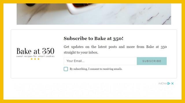 Bake at 350 subscribe
