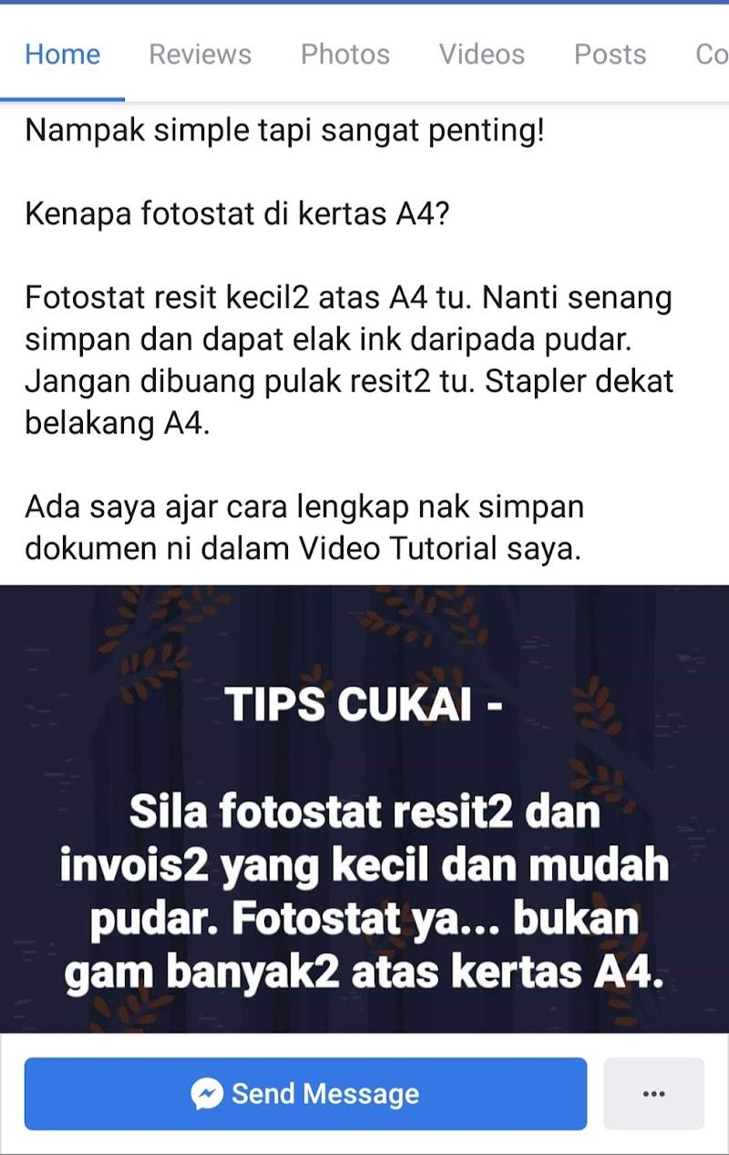 Tips Simpan Dokumen