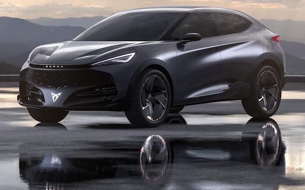 CUPRA Tavascan: SUV elétrico do Grupo VW chega em 2024
