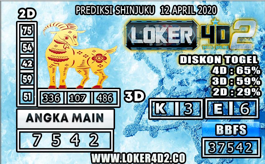 PREDIKSI TOGEL SHINJUKU LUCKY 7 LOKER4D2 12 APRIL 2020