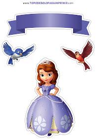 Topo De Bolo Princesa Sofia Para Imprimir Topper De Bolo Para