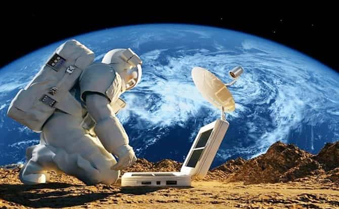 Nasa, astronauta, wifi,
