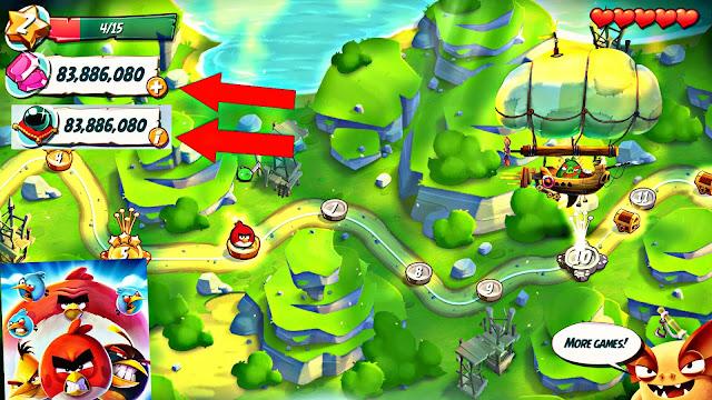 تحميل لعبة Angry Birds 2 v2.14.0 مهكرة للاندرويد (اخر اصدار)