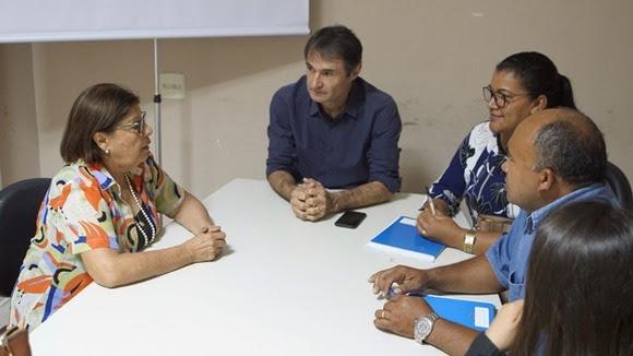 Romero se reúne com nova mesa diretora do Conselho Municipal de Saúde