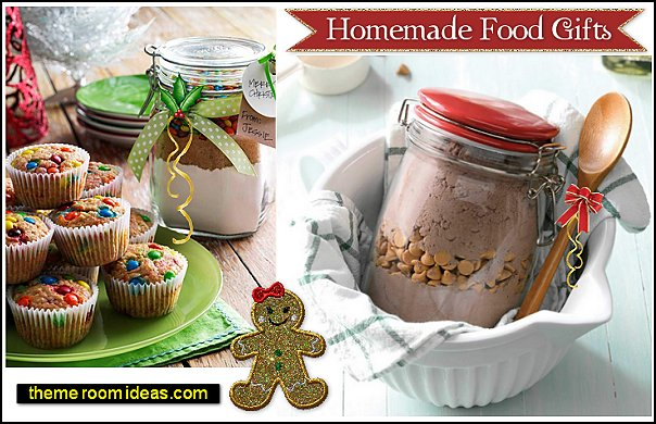 homemade food gifts christmas gifts Handmade Food Gifts sweet to savory gifts gifts in a jar home entertaining christmas gifts