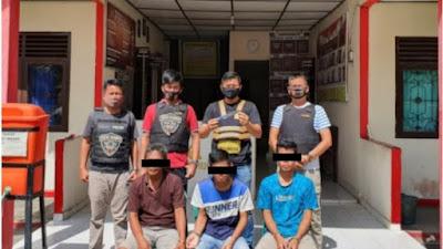 Terlibat Penganiayaan, Tiga Pria Asal Tulung Selapan Diringkus