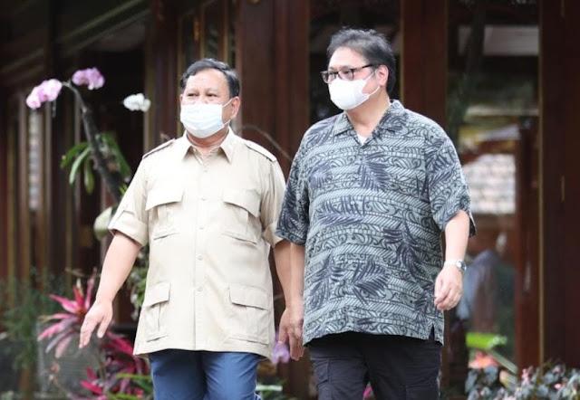 Pertemuan Airlangga-Prabowo Diyakini Penjajakan Awal Koalisi 2024