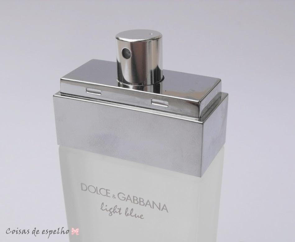 Coisas De Espelho Perfume Light Blue Dolce Amp Gabbana