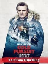 Cold Pursuit (2019) BRRip Original [Telugu + Tamil + Hindi + Eng] Dubbed Movie Watch Online Free