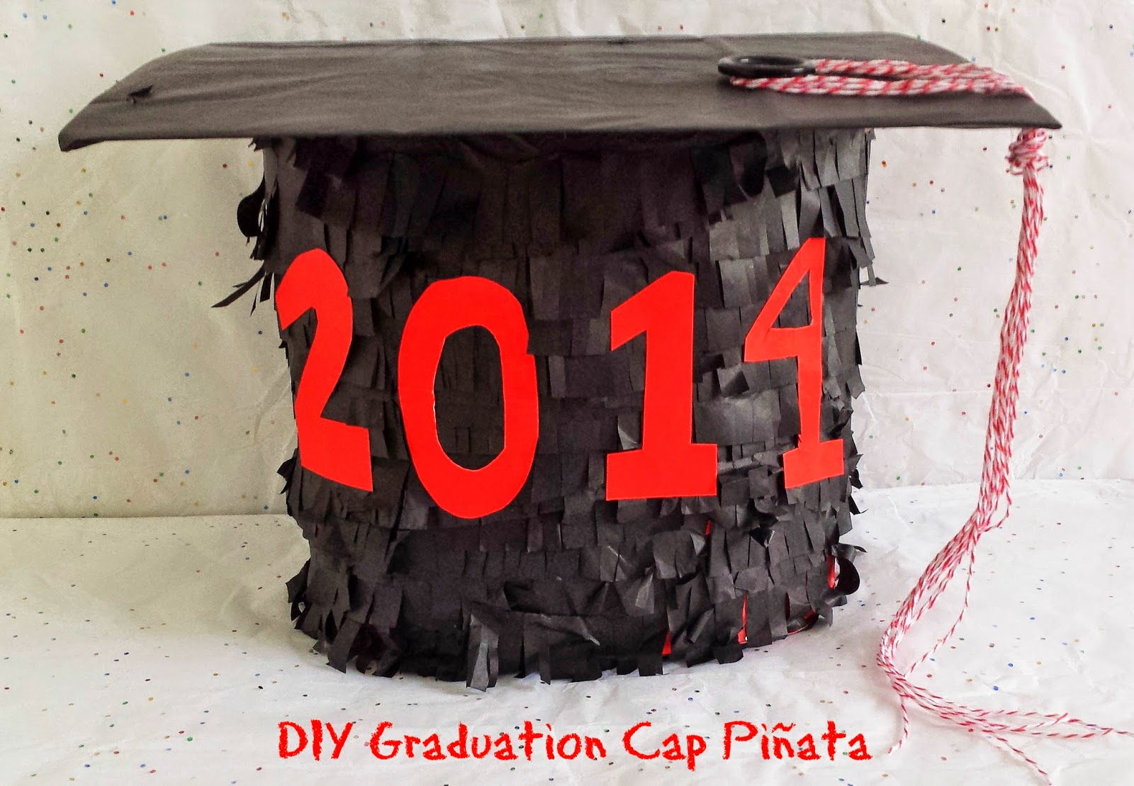 http://b-is4.blogspot.com/2014/05/brodys-diy-graduation-cap-pinata.html