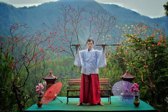 Taman Wisata Genilangit dengan nuansa Jepang