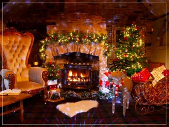20 Christmas Eve Events for Kids in North East England  - Fireside Stories with Santa at Black Horse Beamish