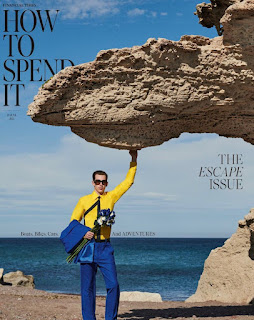 """INYIM Media Fashion Ocean Seas: The Financial Times Latest Issue Of """"How to Spend It"""" Starring Model Victor Ordoñez!"""