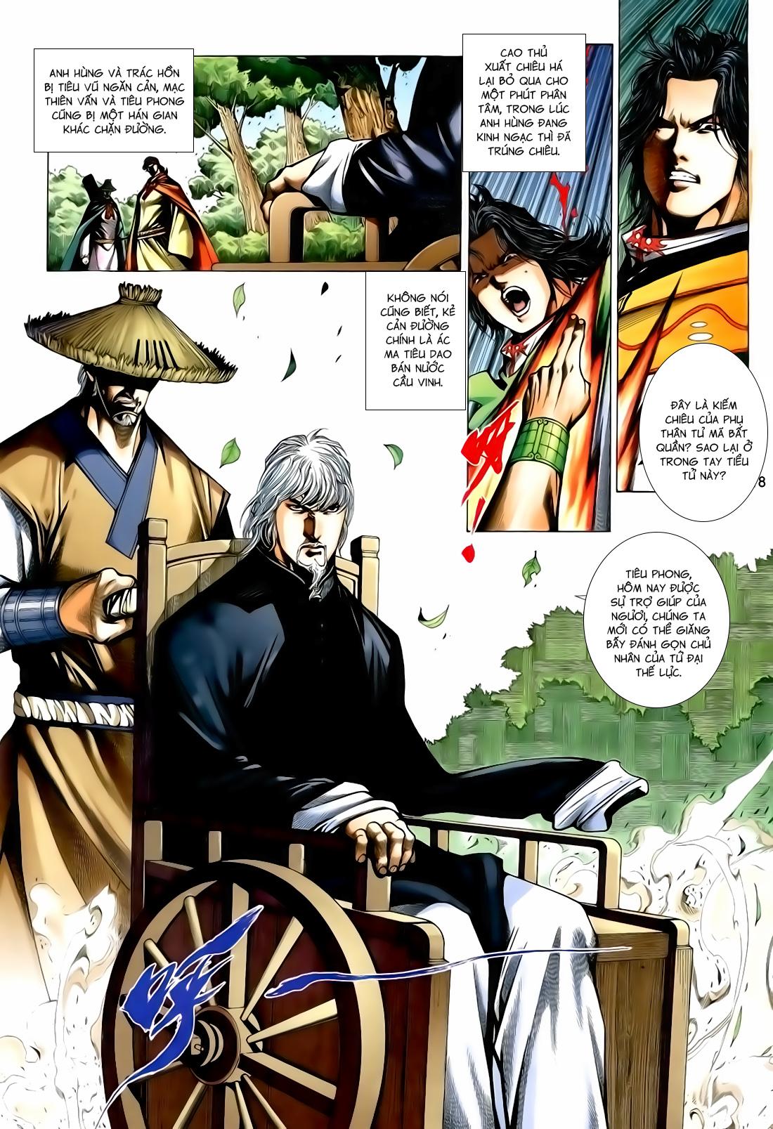 Anh Hùng Vô Lệ Chap 167 - Trang 18