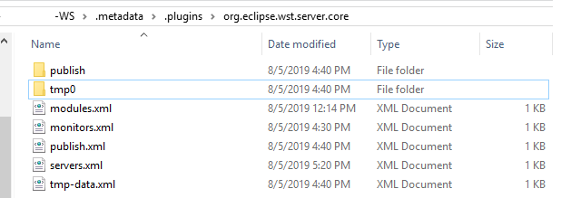 Techie Shah: Eclipse - Server Tomcat v8 5 Server at