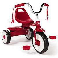 Red Folding Tricycle