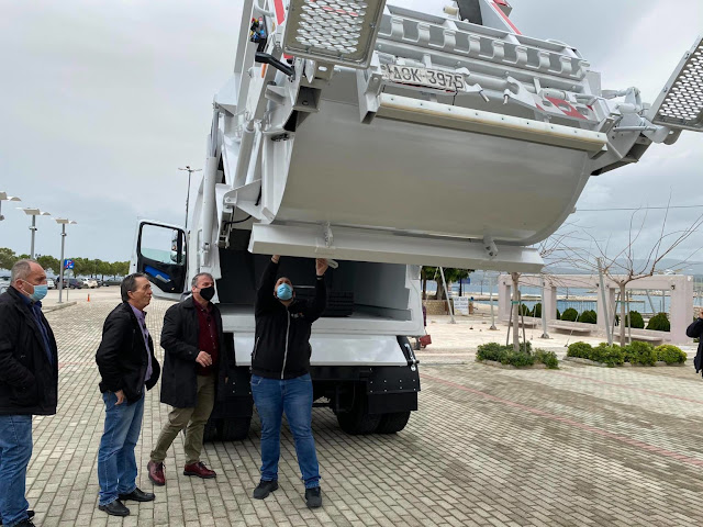 Σύγχρονο απορριμματοφόρο παρέλαβε ο Δήμος Πύλου-Νέστορος