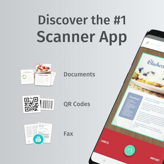 تنزيل برنامج  SwiftScan PDF Document Scanner  تطبيق المسح الضوئي للمستندات و الوثائق لهواتف الاندرويد