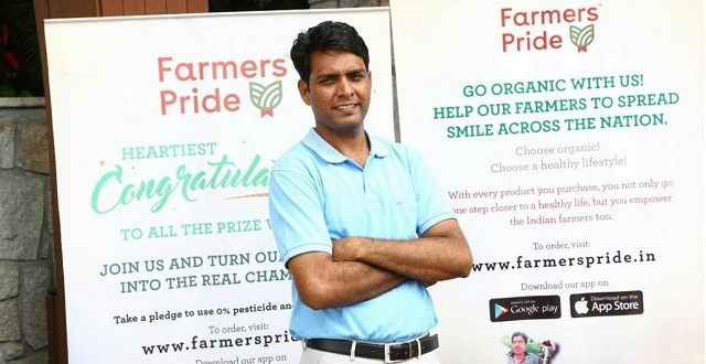 Sandeep's story from engineer to Farmers Pride