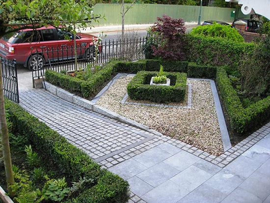 Inspirasi desain taman di depan rumah