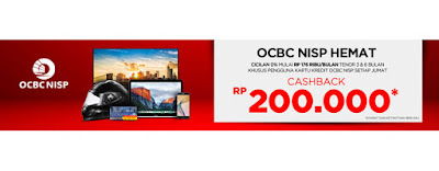 Promo Hemat OCBC NISP - Blanja.com