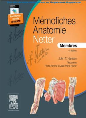 Télécharger Livre Gratuit Mémo fiches Anatomie NETTER - Membres pdf