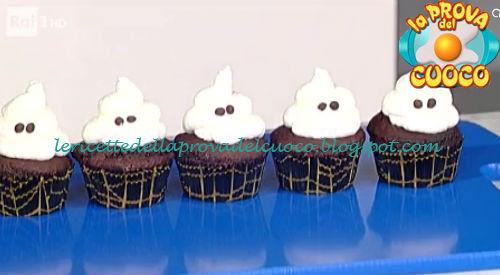 Ricetta dei Cupcake fantasma da La Prova del Cuoco