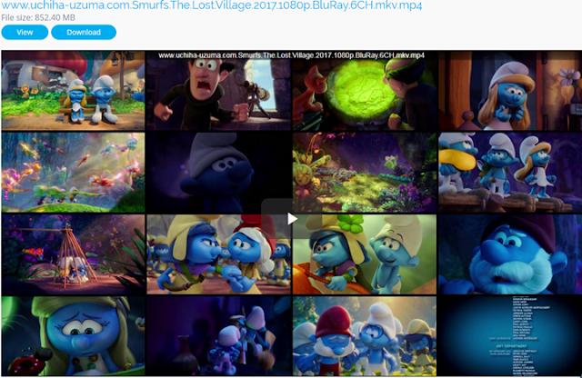 Screenshots Smurfs The Lost Village (2017) BluRay 1080p 720p 480p 360p MKv MP4 DTS 6CH