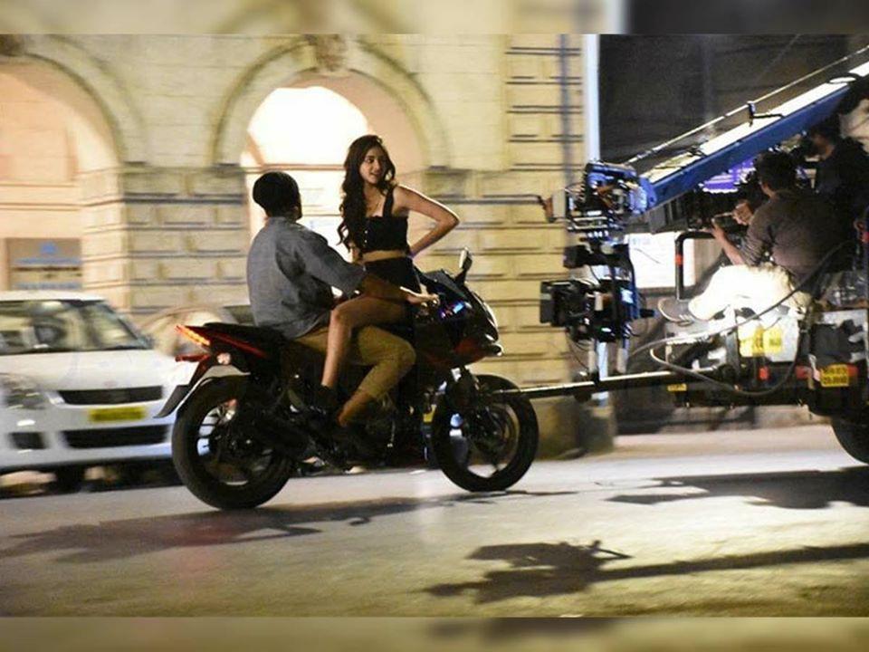 Vijay Devarakonda 'Fighter' movie shooting photos & stills