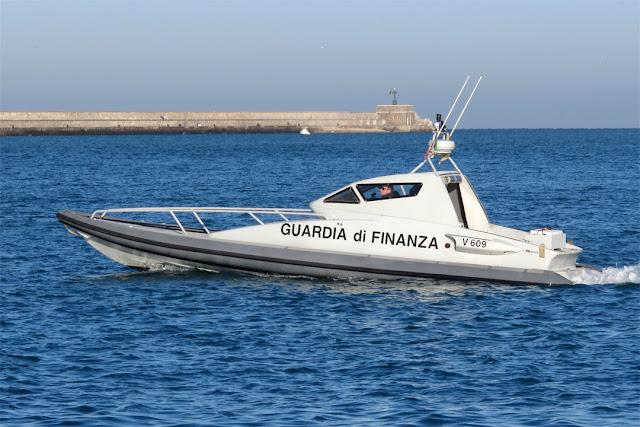 Motor boat V 609 Falco, Porto Mediceo, Livorno