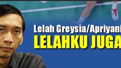 Sindir Ibas, Netizen Posting Meme: Lelah Greysia-Apriyani Lelahku Juga