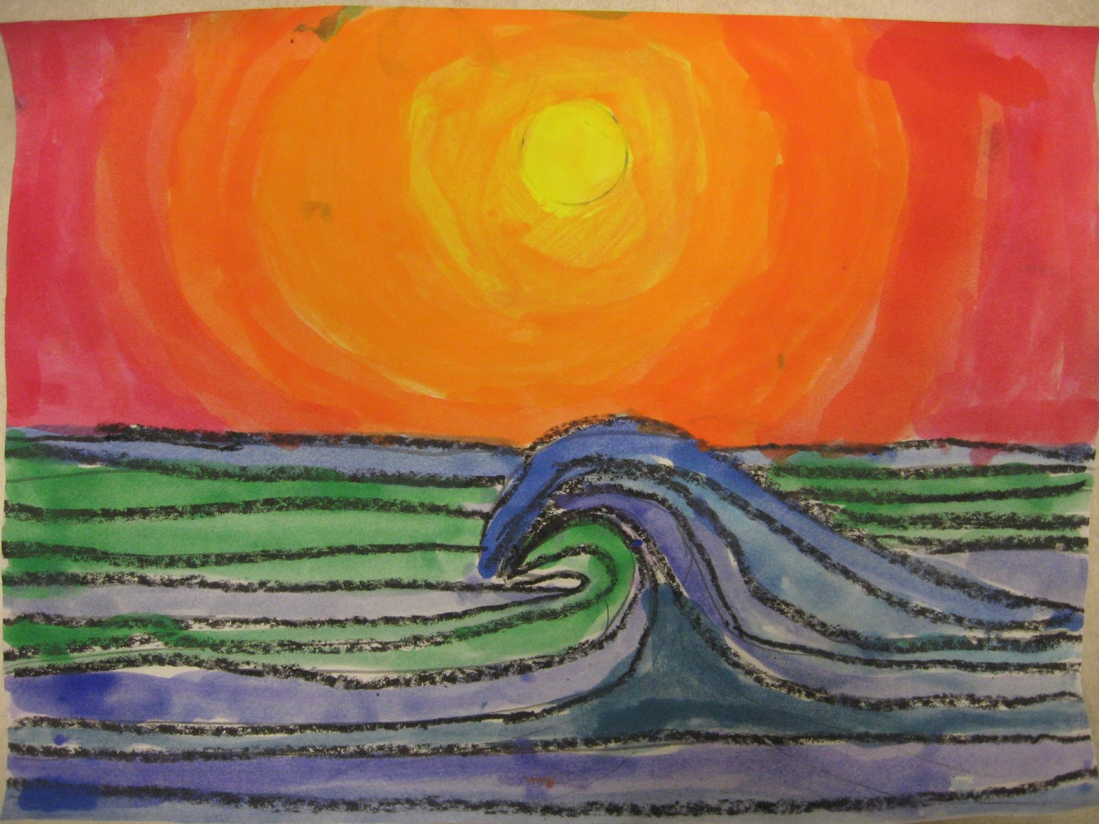 Miss Young 39 S Art Room Warm And Cool Colors With 6th Grade
