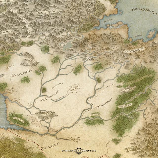 Mapa Warhammer Kislev