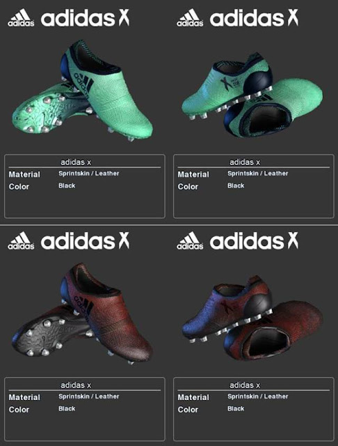 Adidas X Boots For PES 2013